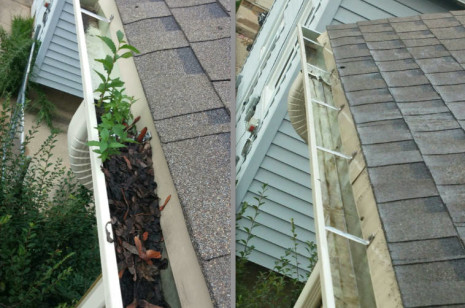 Wauwatosa, WI gutter cleaning